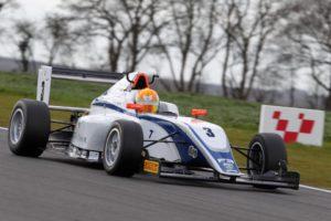 ben racing at snetterton