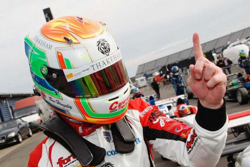 Ben Takes Maiden F3 Win