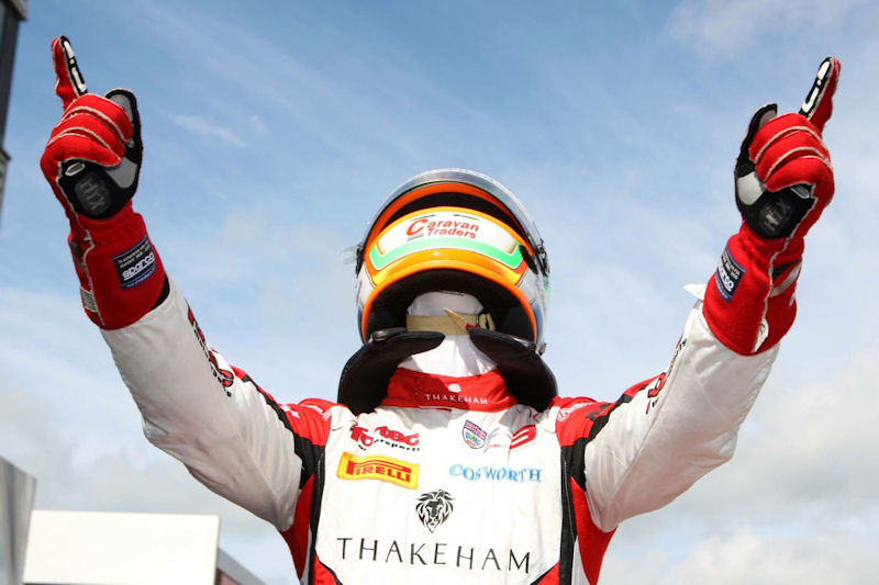 Ben Takes His Second F3 Victory at Silverstone