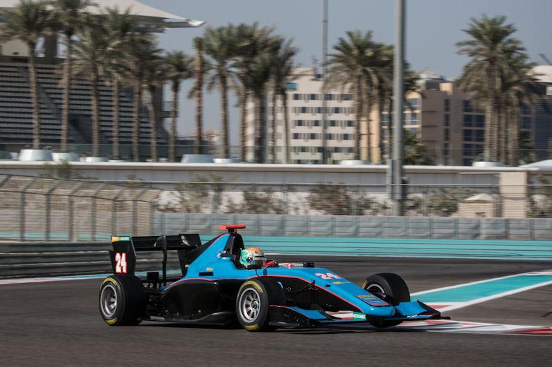 Hingeley Tests GP3 With Jenzer In Dubai
